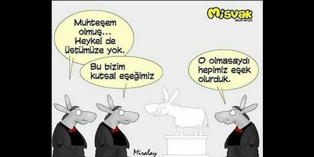 De'leri ayıramayan Misvak Dergisi Mustafa Kemal'i hedef aldı