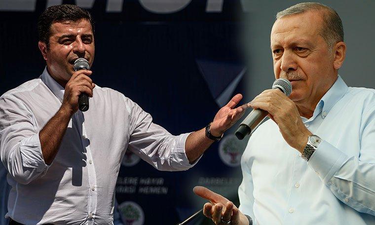 Demirtaş'tan Erdoğan'a 'idam' yanıtı