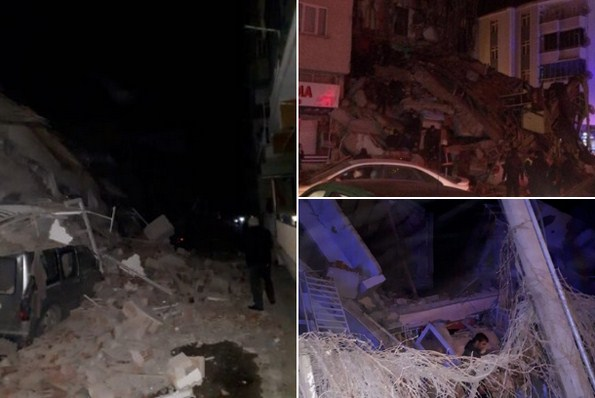 Depremi 120 milyon kişi hissetti,  depremin ardından 35 artçı sarsıntı yaşandı