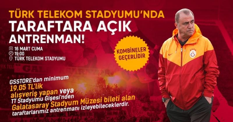 Derbi Öncesi Son Antreman Ali Samiyen'de - Türk Telekom Stadında
