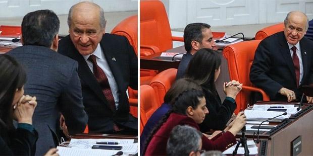 Devlet Bahçeli, HDP grubuyla sohbet etti