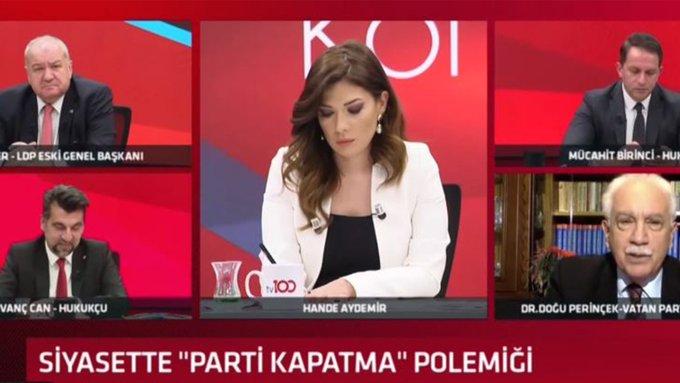 Doğu Perinçek, HDP oylarının yarısının Vatan Partisi ve AK Parti'ye geçtiğini öne sürdü