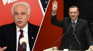 Doğu Perinçek'ten Erdoğan'a tebrik