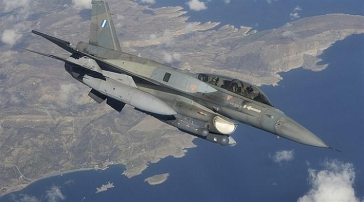 Ege'de Yunan savaş jeti düştü