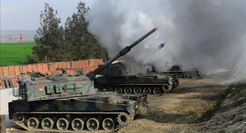 El-Arabiya: TSK, Resulayn'daki DSG hedeflerini vurdu
