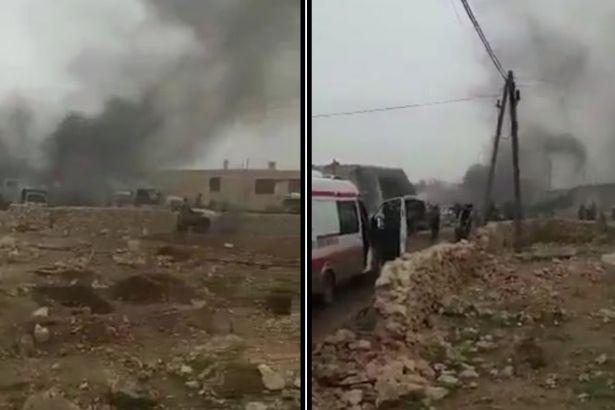 El Bab'ın doğusunda patlama! Ölü ve yaralılar var...