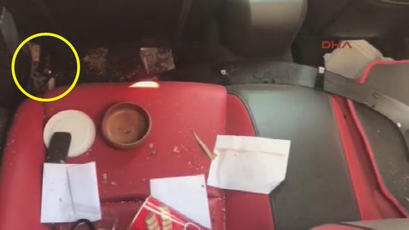 Emrah Serbes'in otomobilinde içki şişesi bulundu!
