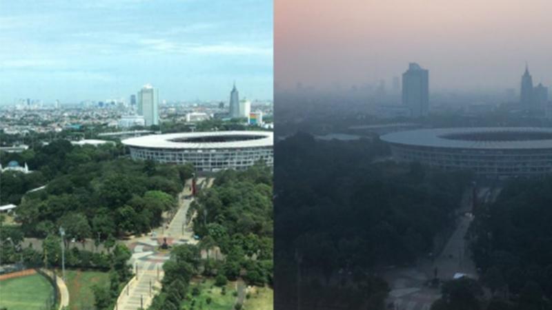 Endonezya'da vatandaşlar hava kirliliği sebebiye hükümete dava açacak