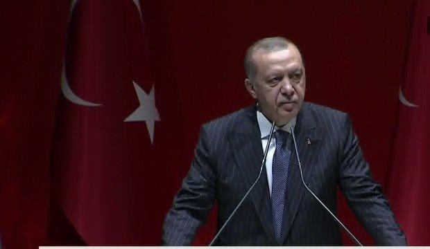 Erdoğan: CHP sayesinde bölücü örgütün belirlediği isimler, Meclis'te milletvekili olarak yerini alacak!