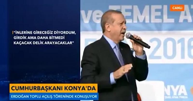 Erdoğan: Kaçacak delik arayacaklar, yeni uygulamalar geliyor...