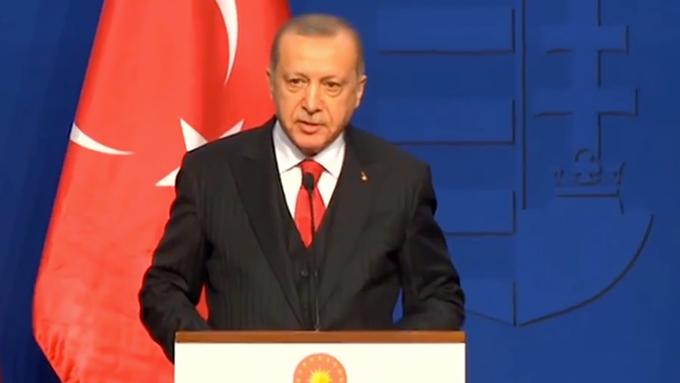 Erdoğan: Ortaklarımızın terör liderleriyle yapmış oldukları görüşmeler var
