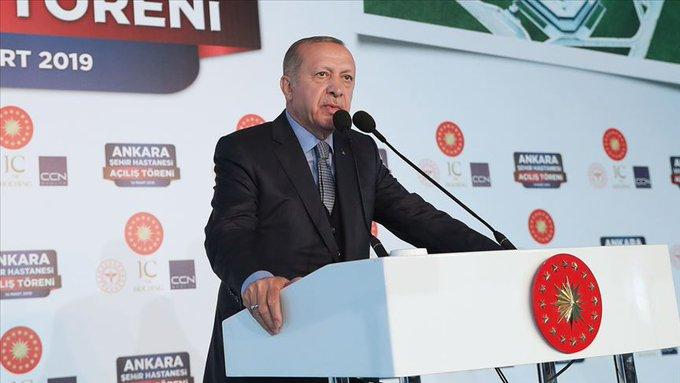 Erdoğan: Taksim Meydanı'na değişik yollardan girmek suretiyle işgal hareketi içine girdiler