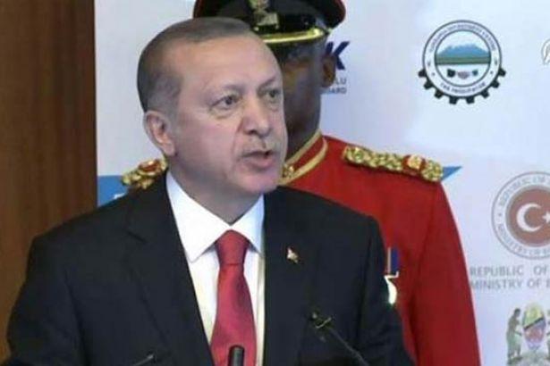 Erdoğan: Yıllarca şu Afrika Allah aşkına sömürülmedi mi?