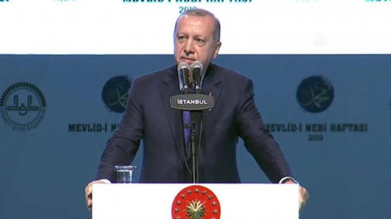 Erdoğan'dan 'Suriyeli' açıklaması: Gitsinler diyenlere eyvallah edemeyiz