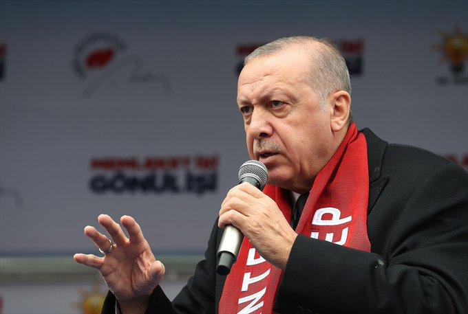 Erdoğan'dan Yeni Zelanda katliamcısına: Senin her yerin bomba olsa ne yazar
