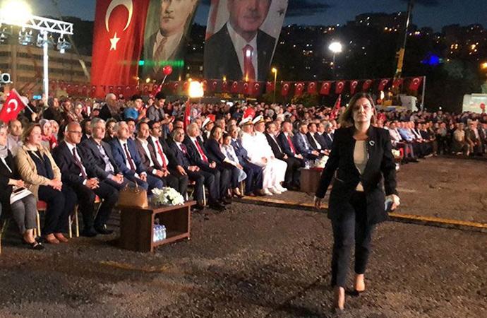 Erdoğan'ın 'Bay Kemal' söylemi üzerine CHP ve İyi partililer alanı terk etti