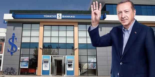 Erdoğan'ın konuşmasının ardından İş Bankası hisseleri yüzde 4 değer kaybetti!
