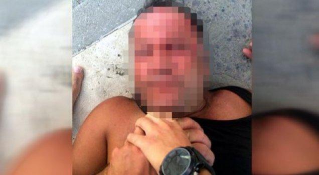 Erkek çocuğu taciz ederken yakalandı, dövüldü, hastanelik oldu