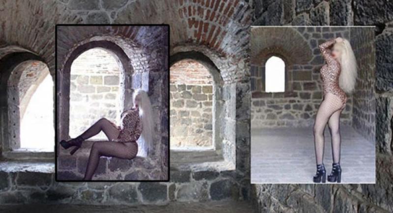 Erzurum'daki Aziziye Tabyası'nda mayolu fotoğraf çektiren kadın gözaltına alındı