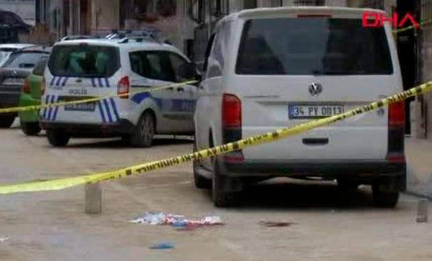 Esenyurt'ta sokakta karısını vuran şahıs intihar girişiminde bulundu