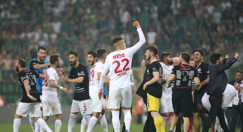 Fatih Karagümrük, 1. Lig'e yükseldi