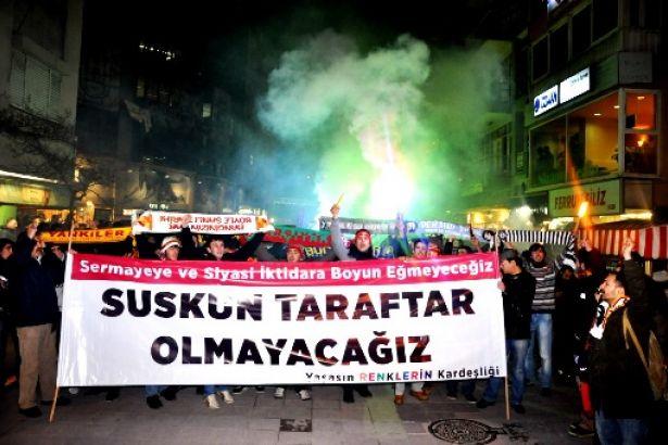 Fenerbahçe taraftarından Galatasaray taraftarına: Hayır diyoruz, var mısınız?