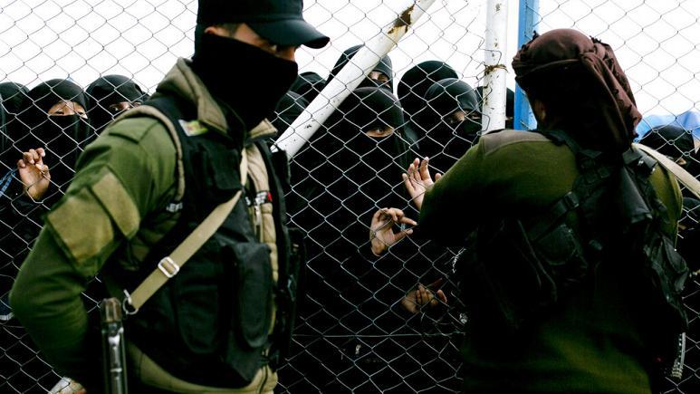 Fransa'ya dönmek isteyen IŞİD'li kadınlar açlık grevine başladı