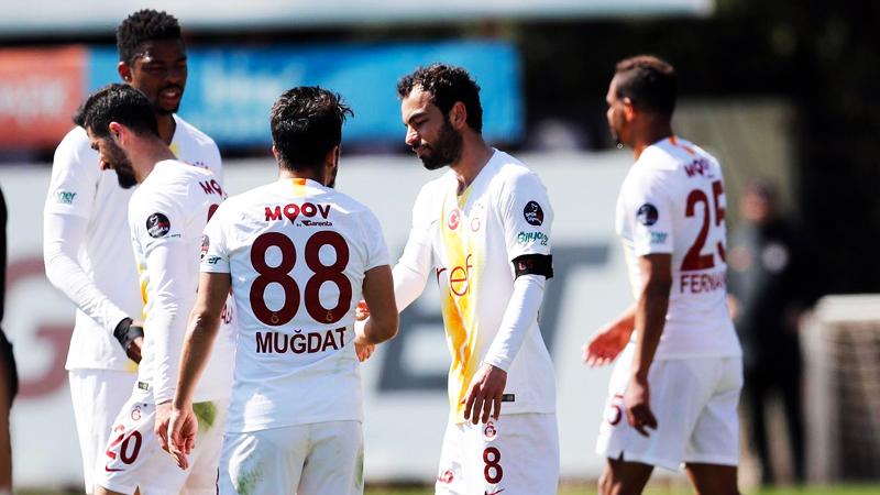 Galatasaray, Ümraniyespor'u 3-2 mağlup etti