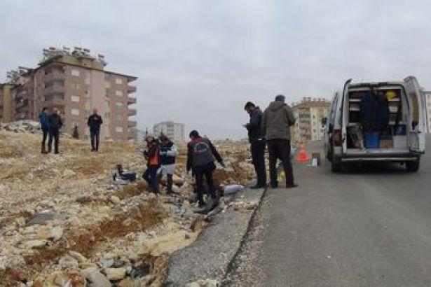 Gaziantep'te yol kenarında erkek cesedi bulundu
