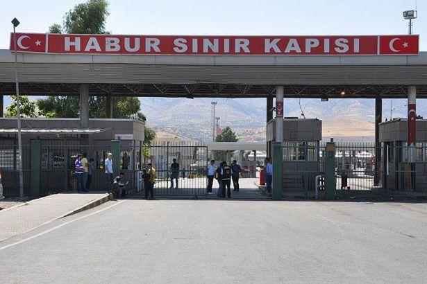 Gümrük Bakanı: Habur Sınır Kapısı şu an açık