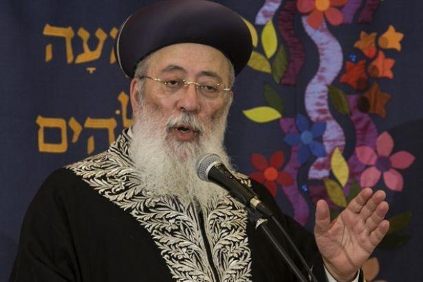 Hahambaşı: Yahudilikte eşcinselliğin cezası ölüm!