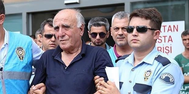 Hakan Şükür'ün babası serbest bırakıldı