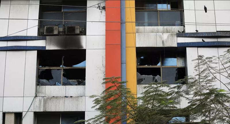 Hindistan'da hastanede yangın: 13 koronavirüs hastası hayatını kaybetti