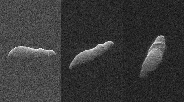 Holiday Asteroidi radarla görüntülendi