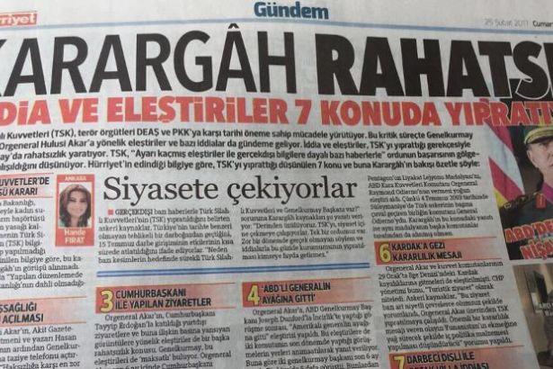 'Hürriyet Genel Yayın Yönetmeni Sedat Ergin görevinden alındı' iddiası
