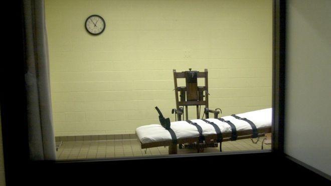 İdam mahkumu elektrikli sandalyeyi tercih etti