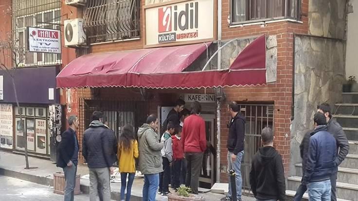 İdil Kültür Merkezi'ne polis baskını
