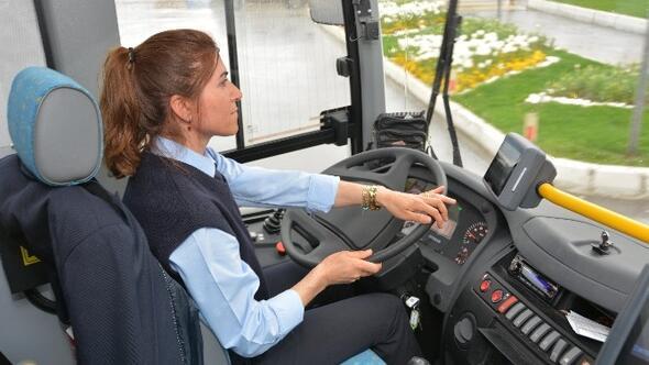 İETT'nin 10 kadın şoför ilanına 540 erkek başvurdu