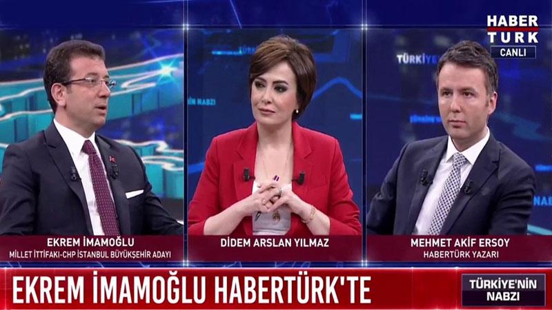 İmamoğlu'nun montajlanan konuşmasında soruyu soran gazeteciden açıklama