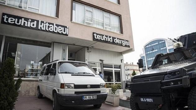 IŞİD'in Ankara'da açtığı okula operasyon
