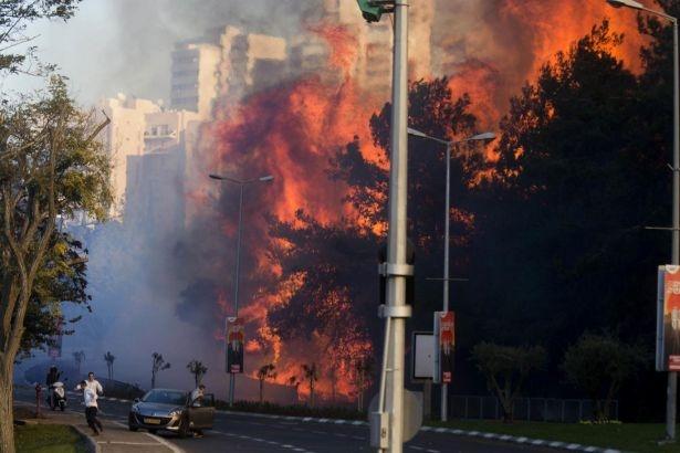 İsrail'deki yangınları El Kaide üstlendi