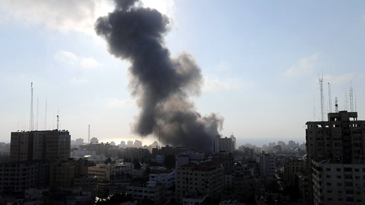 İsrail'in başkentine roket atıldı