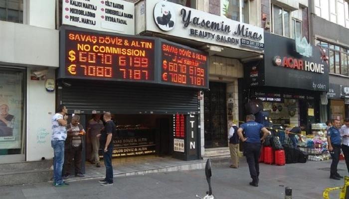 İstanbul'da silahlı soygun paniği