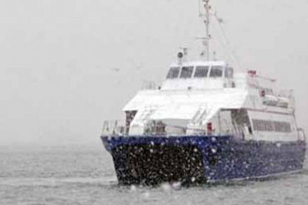 İstanbul'da ve Bursa'da deniz seferleri iptal