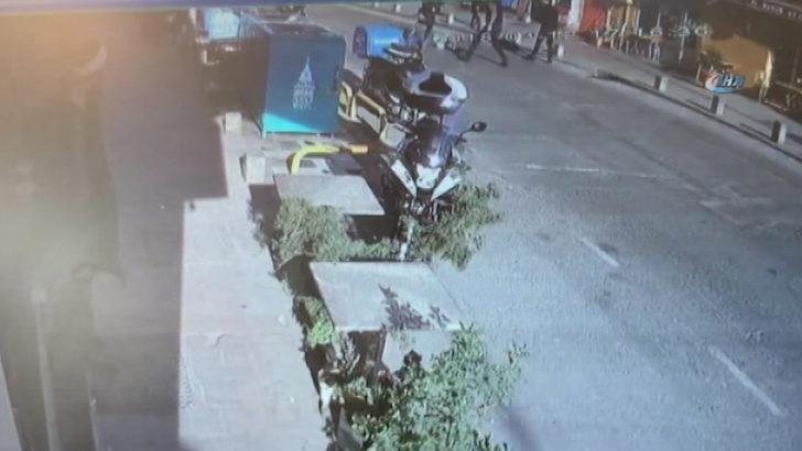 İstanbul'un Merkezinde Silahlı Çatışma
