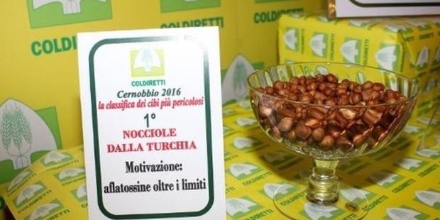 İtalya'da en tehlikeli gıdalar listesinde Türk fındığı ilk sırada!