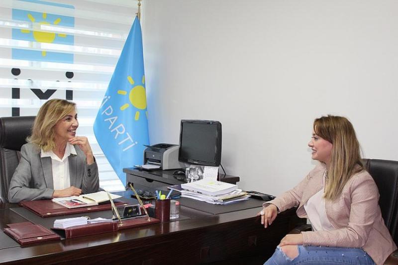 İyi Parti Büyükçekmece ilçe başkanı Gülay Ezibay istifa etti!