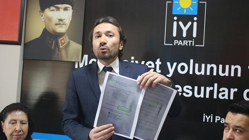 İYİP'ten Uşak Belediyesi hakkında suç duyurusu