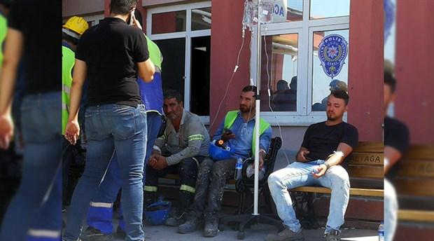 İzmir'de 700 işçi yemekten zehirlendi!