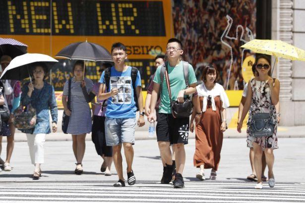 Japonya'da aşırı sıcaklar nedeniyle 80 kişi öldü